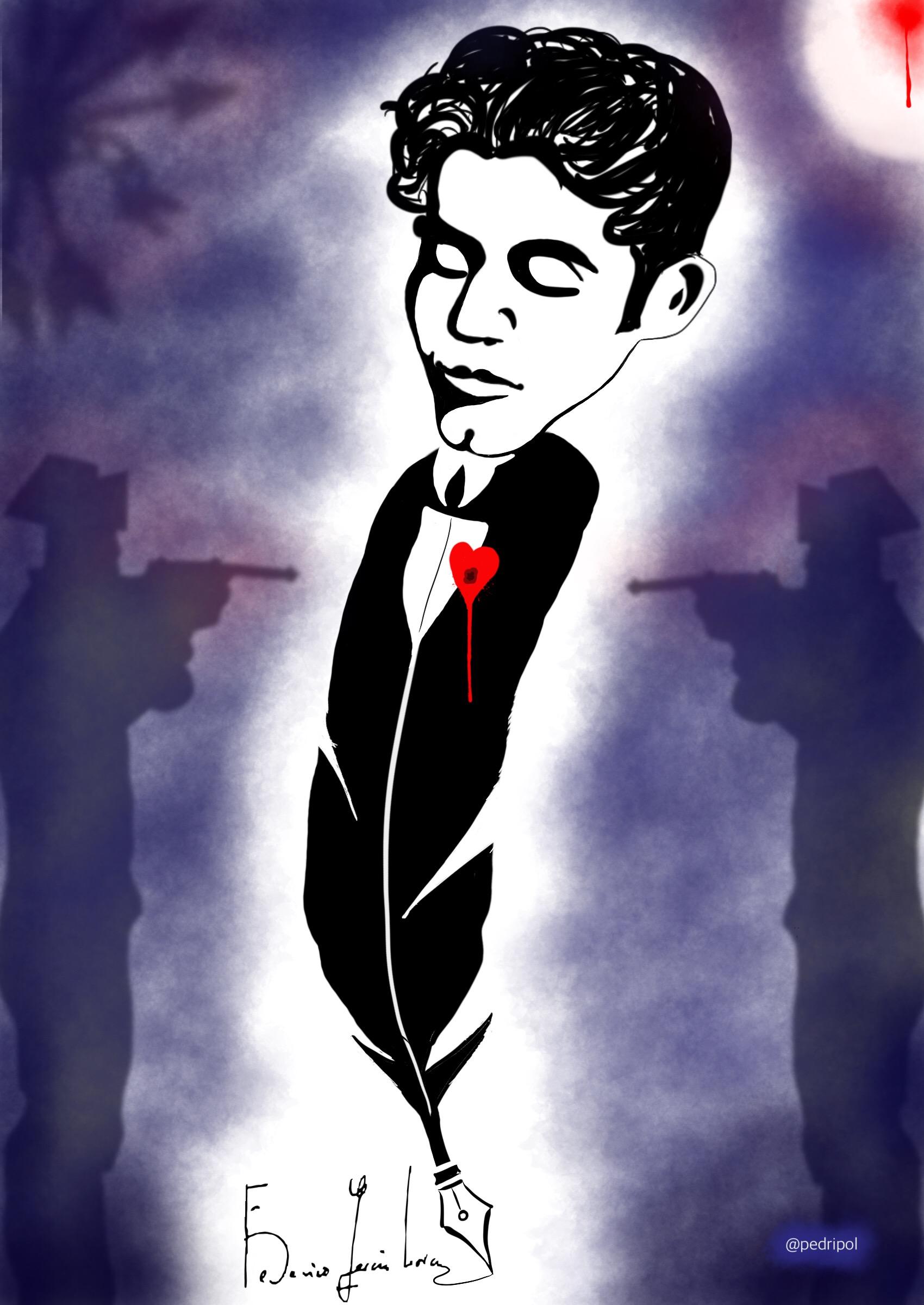 Lorca: asesinado el 18/8/1936. 38 años