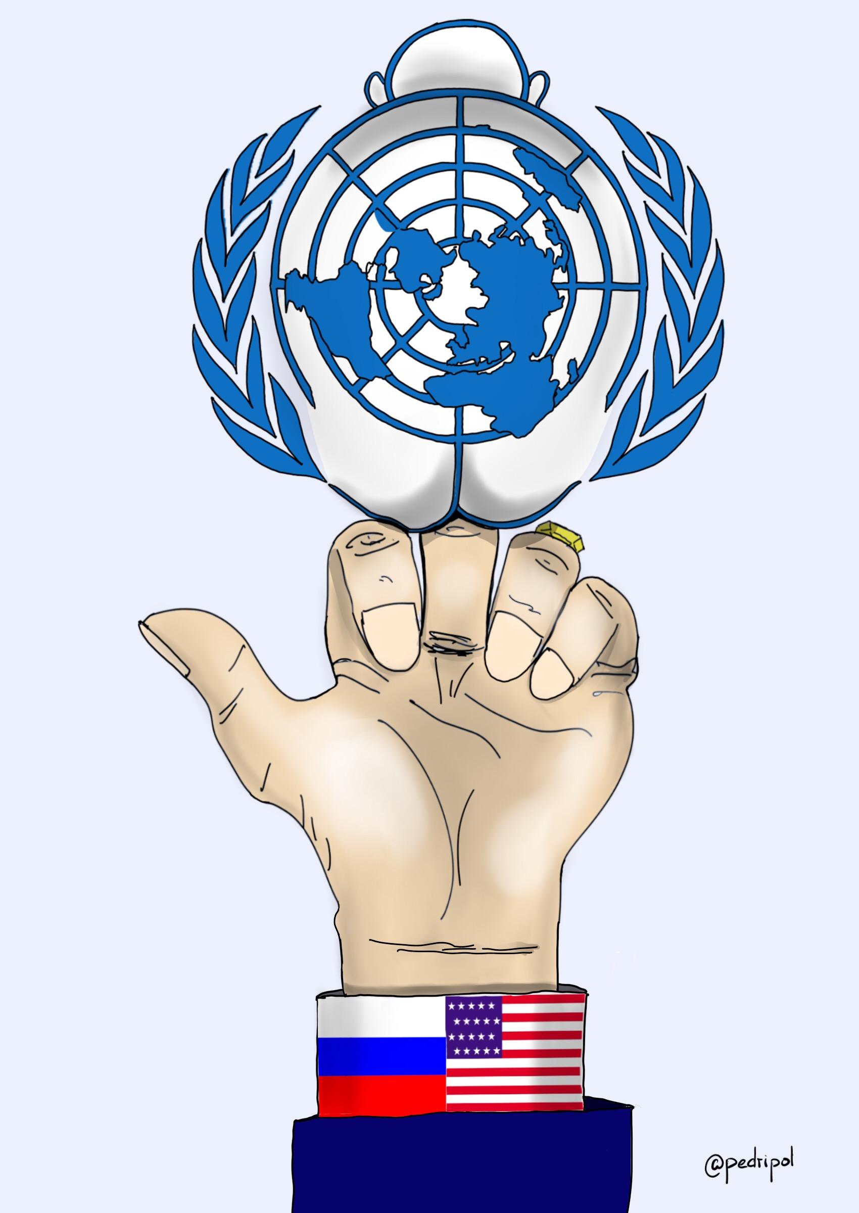 la ONU está jodida
